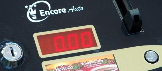 Encore Auto Vending Machine Coinslot