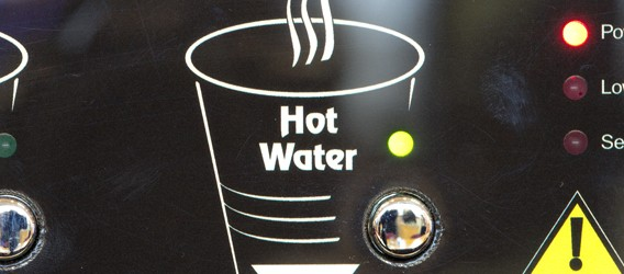 Encore Auto Vending Machine Hot Water