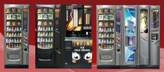 Snackbreak vending combinations
