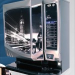 Style hot drink vending machine