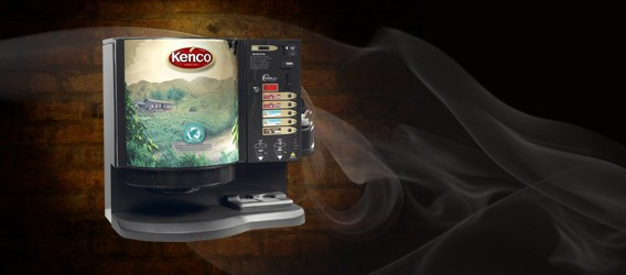 Encore Auto Vending Machine Kenco Livery